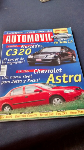 automóvil - prueba mercedes c320 el terror de su segmento!#8