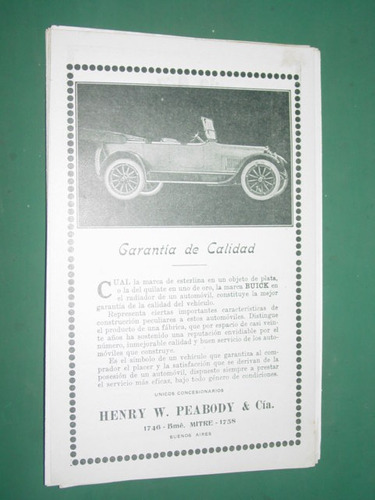 automoviles buick clipping public henry peabody buenos aires