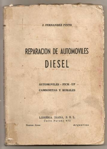 automoviles diesel reparacion libro de fernandez pinto