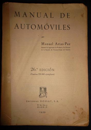 automoviles manuel arias paz 26 edición