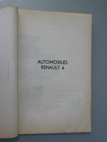 automoviles  renault 4 en todos sus modelos