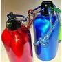 2 Botellas Tomatodo Cantimplora Deportiva Aluminio Brillante