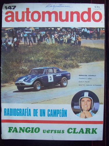 automundo 147 27/2/68 pairetti barracuda fangio vs clark