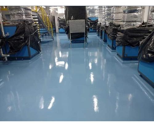 autonivelante piso espelhado resina