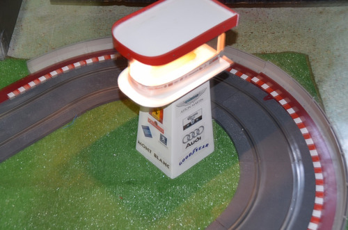 autopista scalextric accesorios  decoracion