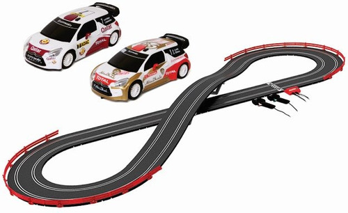 autopista scalextric c2 rally x-treme slot 1/32 5.0 mts.