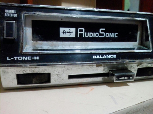 autoradio antiguo audiosonic