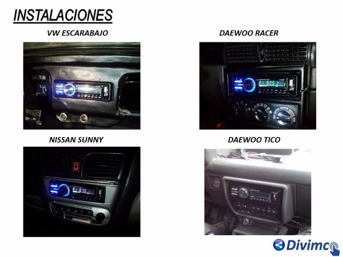 autoradio bluetooth 1din