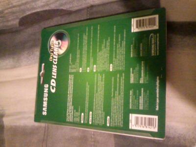 autoradio - disco limpiador samsung de laser o lente