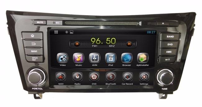 autoradio homologdo nissan qashqai 14 15 gps wifi tv android s en mercado libre. Black Bedroom Furniture Sets. Home Design Ideas