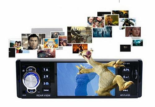 autoradio multimedia 4.1  hd mp5, mp3, usb sd.