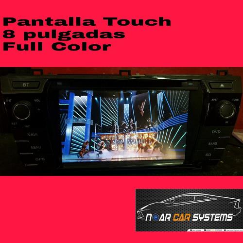 autoradio multimedia corolla 2014-2015 dvd-gps-tv dig-bt