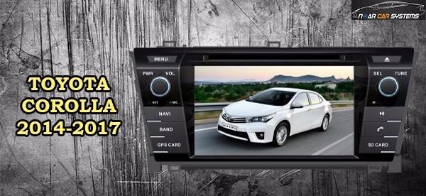 autoradio multimedia corolla 2014-2016 dvd-gps-tv dig-bt