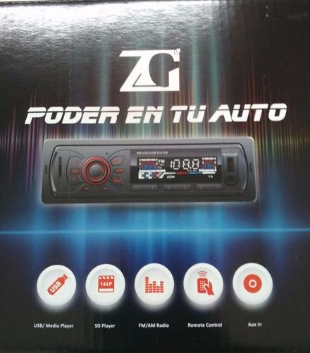 autoradio pantalla lcd, usb, sd, mp3, entrada auxiliar