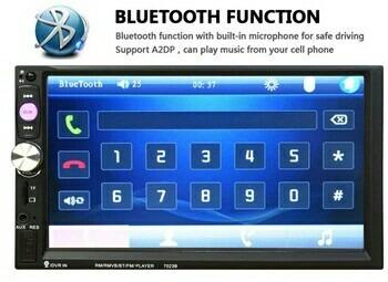autoradio pantalla táctil led 7 pulgadas nuevo envío gratis!