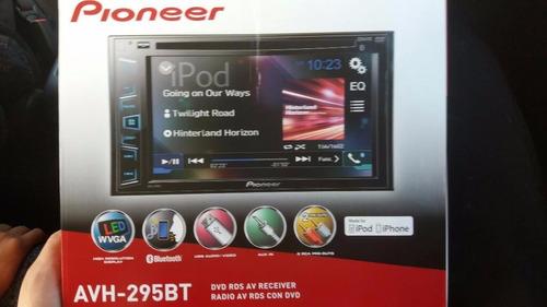 autoradio pioneer avh-295bt dvd bluetooth mp3 radio 50w