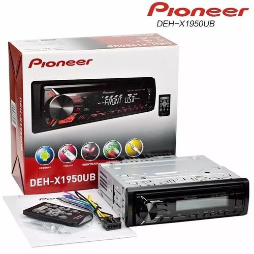 autoradio pioneer control remoto  modelo. qxe1047