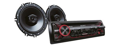 autoradio sony xplod bluetooth con parlantes mxs-n4216bt