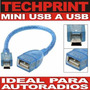 Cable Mini Usb 5 Pines A Usb Hembra Autoradio Pionner Sony