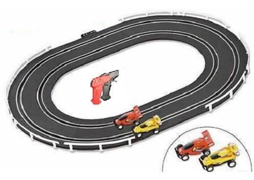 autorama pista de corrida infantil 2 carrinhos e 2 controles