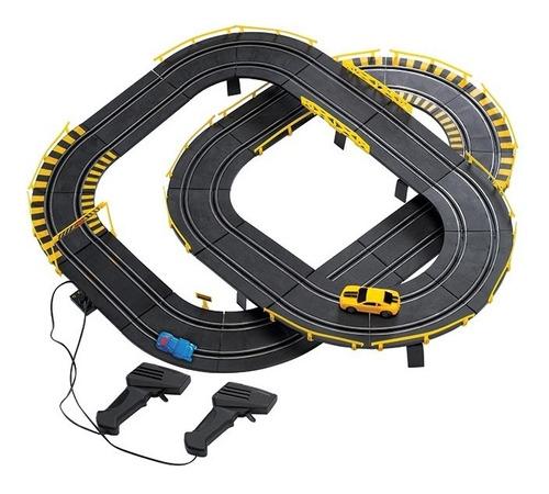 autorama transformers bumblebee autorace pista de corrida