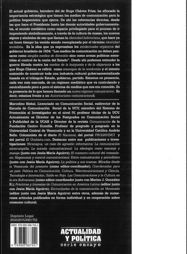autoritarismo comunicacional / marcelino bisbal