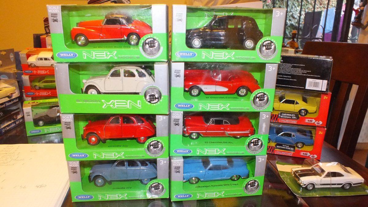 Autos Antiguos De Coleccion A Escala Welly 1 36 5 900 En Mercado