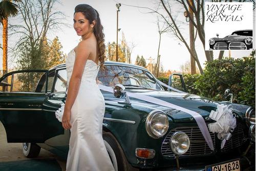autos antiguos para matrimonio