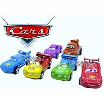 Carro Cars Rayo Mcqueen Coleccion 6 Carros Mate Juguete Niño