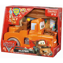 Divertido Cars Grua Mate Bubble De Cars 2 Con Accesorios