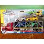 Camión Super Truck Tipo Cigüeña (camión + 4 Carros Ó Motos)