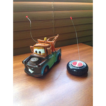 Juguete. Mater. Cars. Control Remoto. Como Nuevo. Colección.