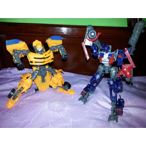 Carros Robot Transformer Bumblebee Optimus Prime 20 Cm