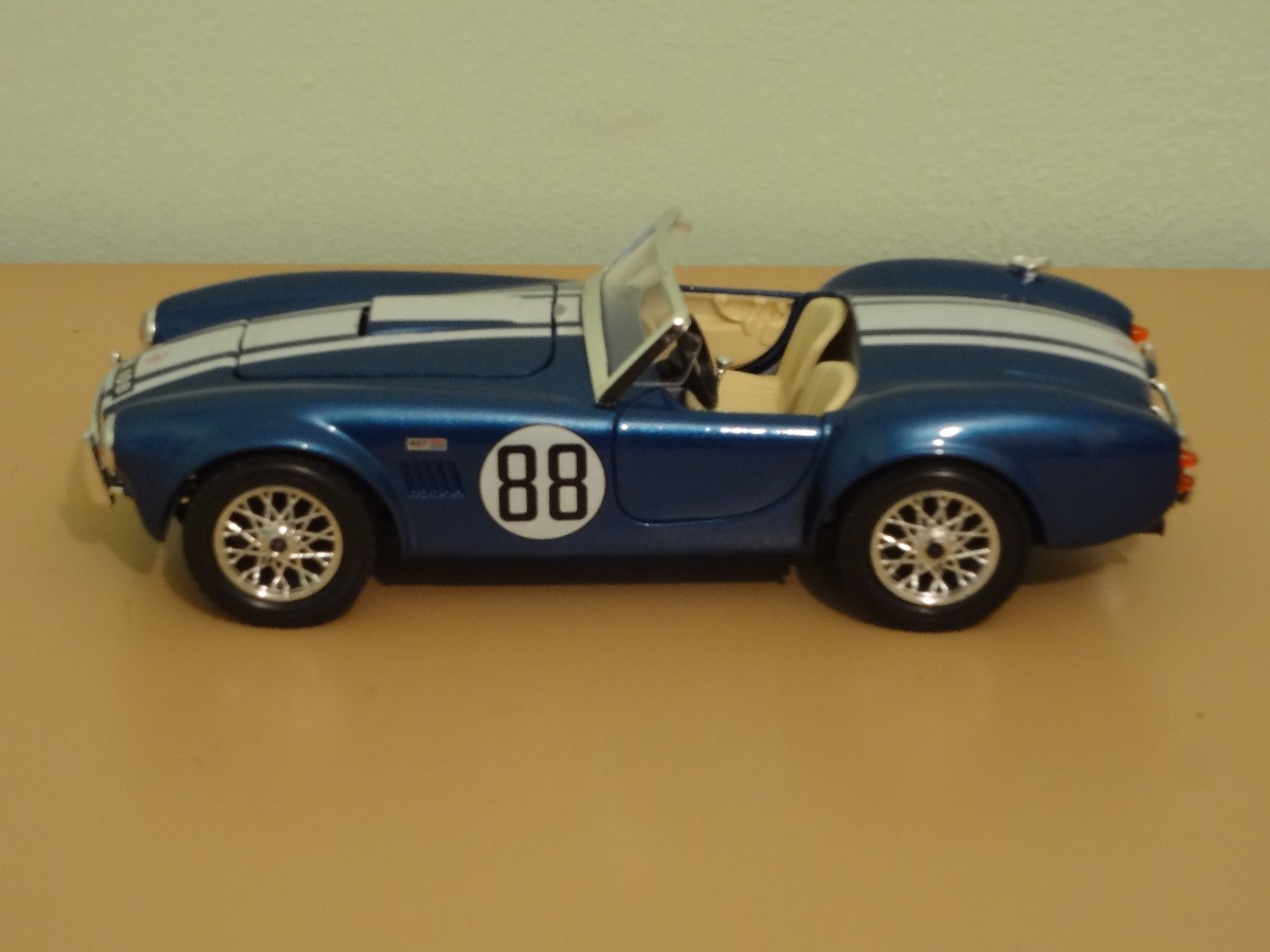 Autos Burago Cobra 427 Coleccion Escala 1 24 800 00 En Mercado Libre