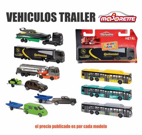 autos camiones trailer autobus majorette mundo manias