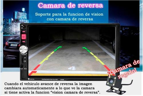 autos carros estéreos pantalla doble din cámara de reversa