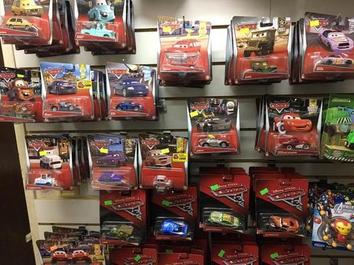 autos cars 3 disney pixar originales metal - mattel