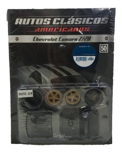autos clásicos americanos nº 50 chevrolet camaro z28 3/4