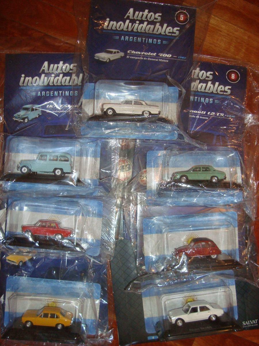Autos Coleccion A Escala Argentinos Inolvidables Salvat 700 00