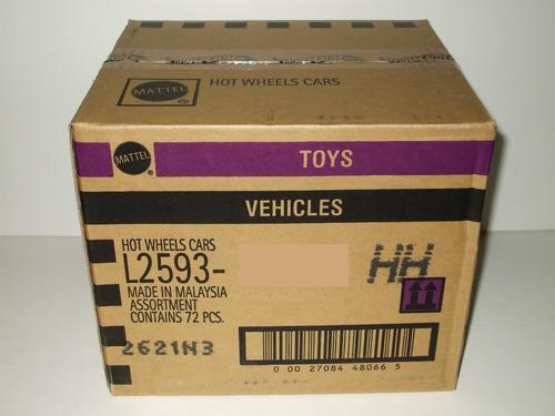 autos coleccion hot wheels caja cerrada de fabrica 2017
