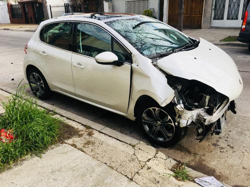 autos compro chocado inhibidos peugeot hilux 208 mb