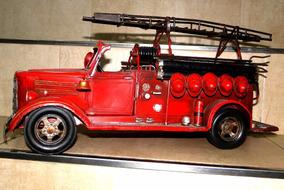 Juguetes De Réplica Modelo Chapa Autos Colección Bomberos shrdotQCxB