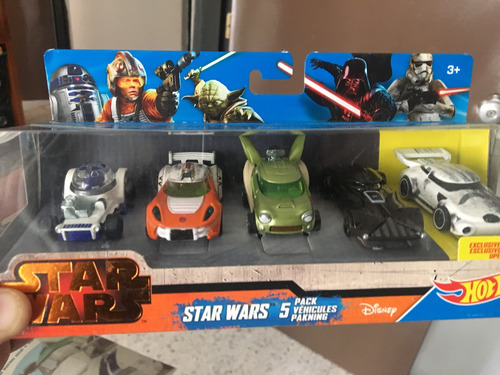 autos de la serie star wars de la marca hot wheels  vader