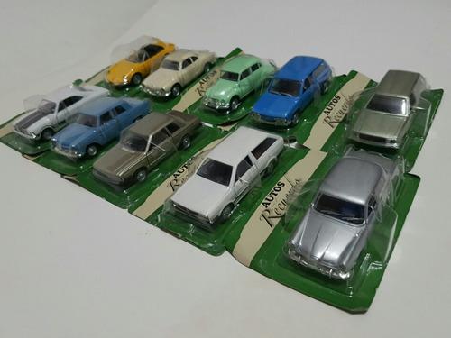 autos del recuerdo del comercio metal