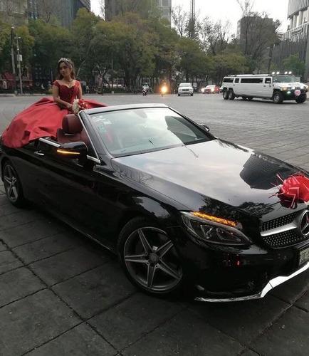 autos descapotables para xv años, bodas, desfiles