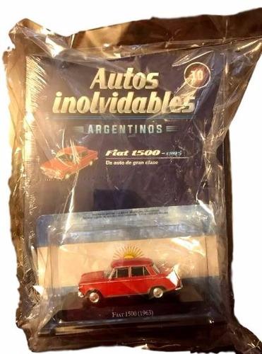 autos inolvidables argentinos fiat 1500 (1963) entrega 10