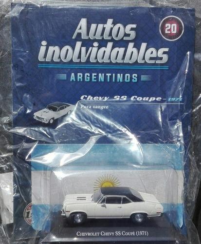 autos inolvidables. chevy coupé (1971) . escala 1:43.