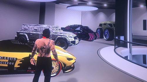 autos modeados de gta 5 online ps4