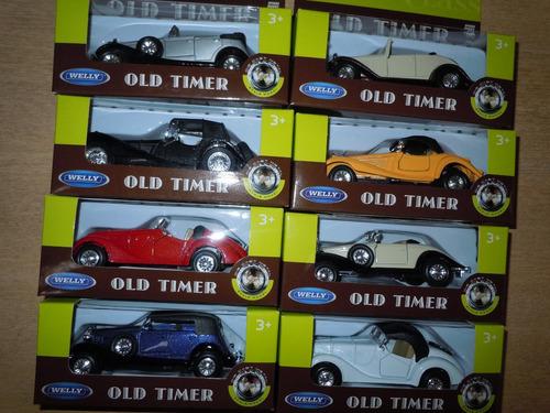 autos welly escala1:36 varios modelos pull back abre puertas