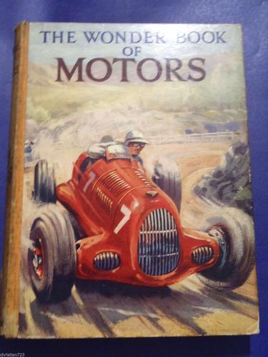 autos wonder book of motors ford studebaker jaguar buick